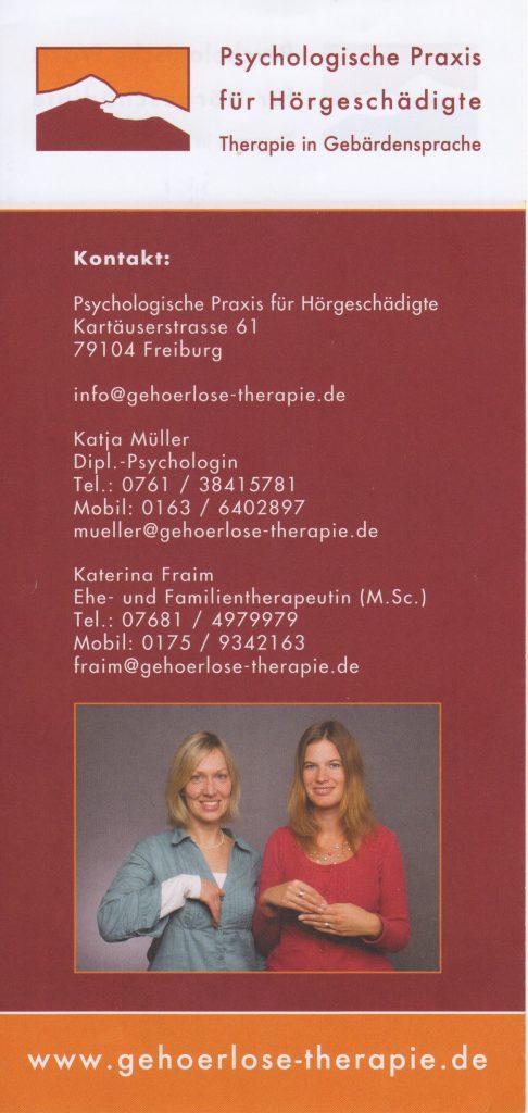 Psychologische Praxis für Hörgeschädigte 1